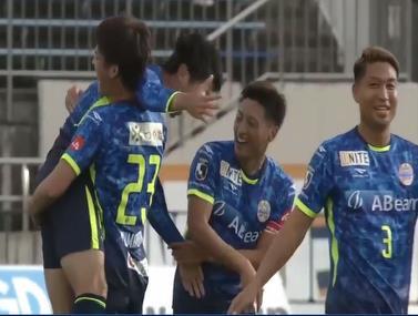 הליגה השנייה ביפן מספקת רגע נדיר