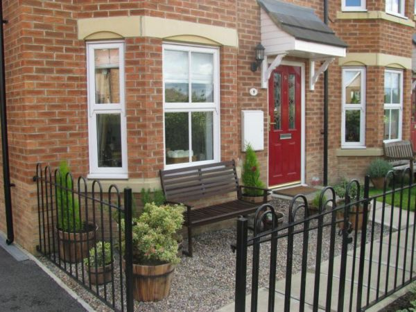 Newcastle upon tyne 3 bed terraced house on nursery for Front garden designs for terraced houses