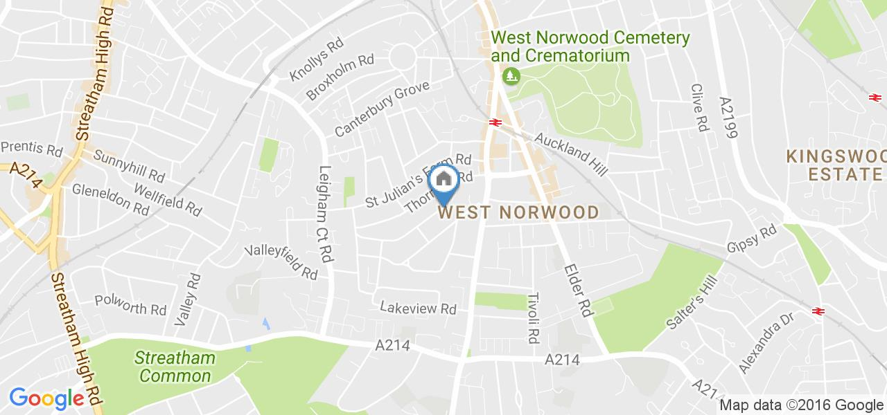 1 Bed Flat, Casewick Road, SE27