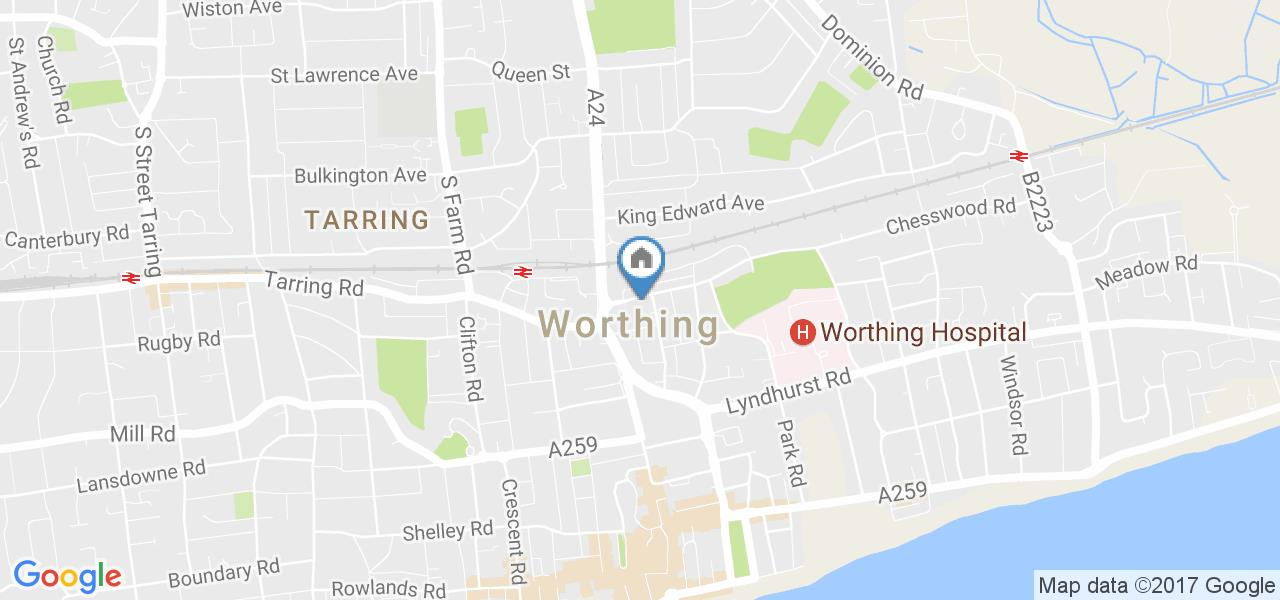 Worthing 1 Bed Flat Newland Road Bn11 To Rent Now