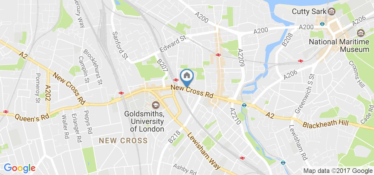 London 1 Bed Flat New Cross Road Se14 To Rent Now