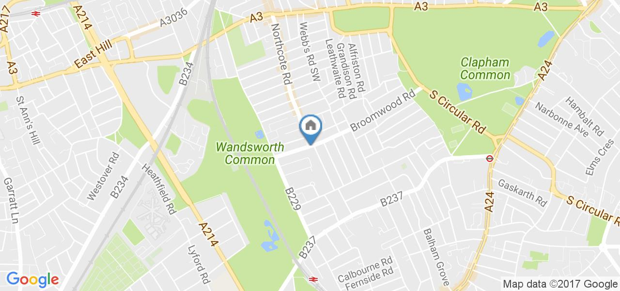 2 Bed Flat, Broomwood Road, SW11