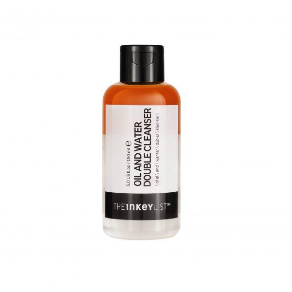 Inkey List Oil & Water Cleanser Bottle