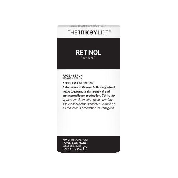 The Inkey List Retinol Oil Box