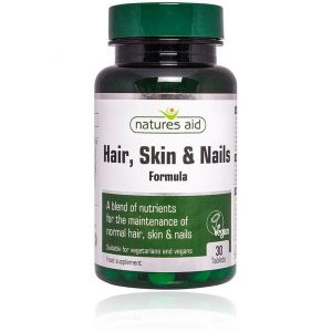 Natures Aid Hair Skin & Nails Tablets (30)