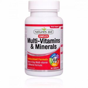 Natures Aid Complete Multivitamins & Minerals Tablets (90)