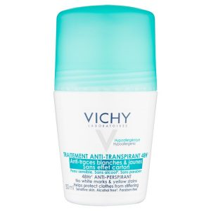Vichy 48hr 'No Trace' Anti-Perspirant Deodorant Roll-on 50ml
