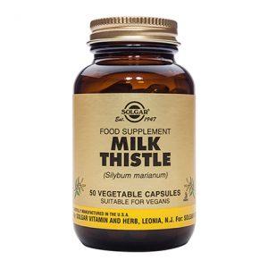 Solgar Milk Thistle Capsules (50)
