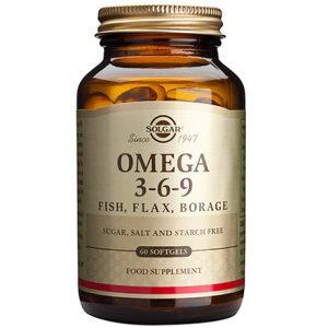 Solgar Omega 3-6-9 Softgels – (60) Capsules