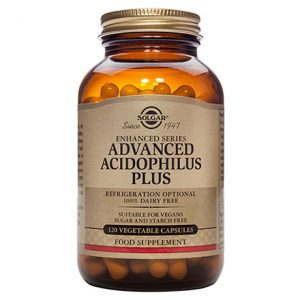 Solgar Advanced Acidophilus Plus – (60) Vegetarian Capsules