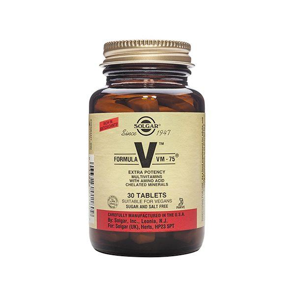 Solgar Formula VM-75 Tablets (30)