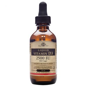 Solgar Liquid Vitamin D3 2500IU (62.5µg) 59ml