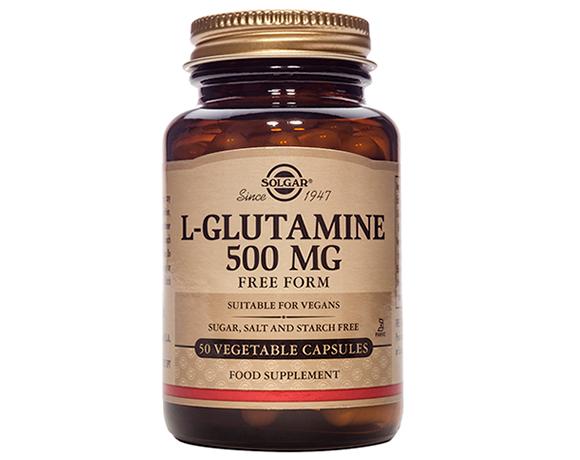 Solgar L-Glutamine 500 mg – (250) Vegetarian Capsules