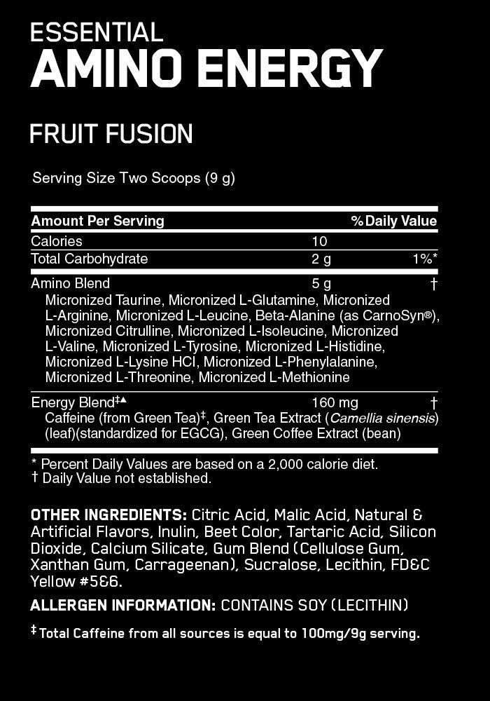 Essential Amino Energy, 30 servings Pharmhealth Pharmacy