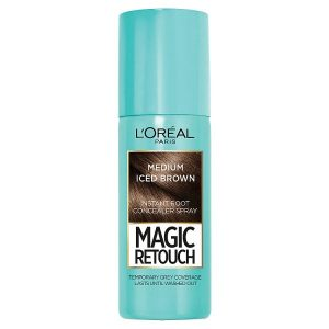 L'oreal Magic Retouch Root Touch Up  (Medium Iced Brown)