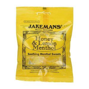 Jakemans Honey & Lemon Menthol Sweets (100g)