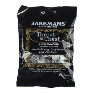 Jakemans Throat & Chest Sweets (100g)