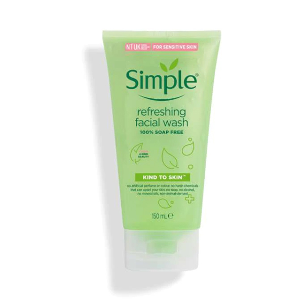 Simple Kind To Skin Refreshing Facial Wash (150ml)