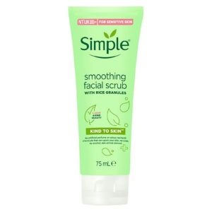 Simple Kind To Skin Soothing Facial Scrub (75ml)