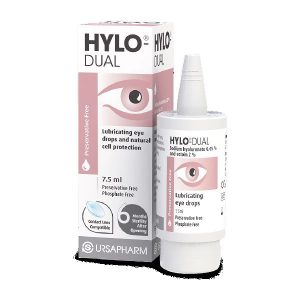 Hylo-Dual Eye Drops Preservative Free 7.5ml