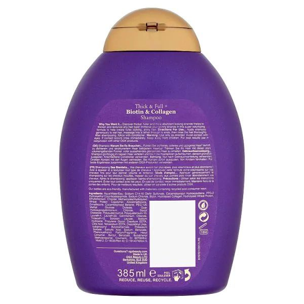 OGX Thick & Full Biotin & Collagen Conditioner (385ml)