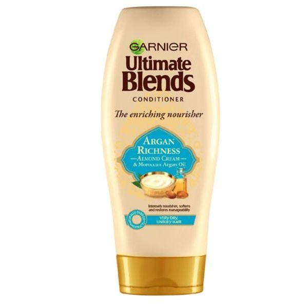 Garnier Ultimate Blends Argan Oil & Almond Cream Dry Hair Conditioner (360ml)