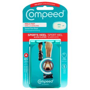 Compeed Sports Heel Blister Plasters (5)