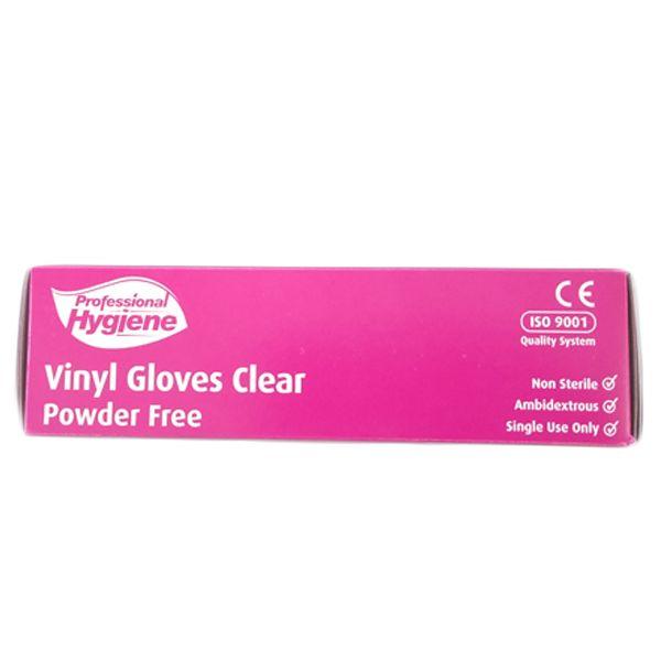 Gloves Vinyl Powder Free Clear (Large)