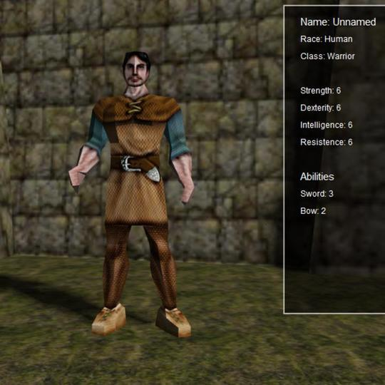 Overview | Dashboard | Character creator | PlayCanvas | 3D
