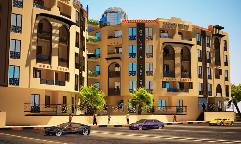 Apartment with a Swimming Pool for Sale in Hurghada - Ref 1578982