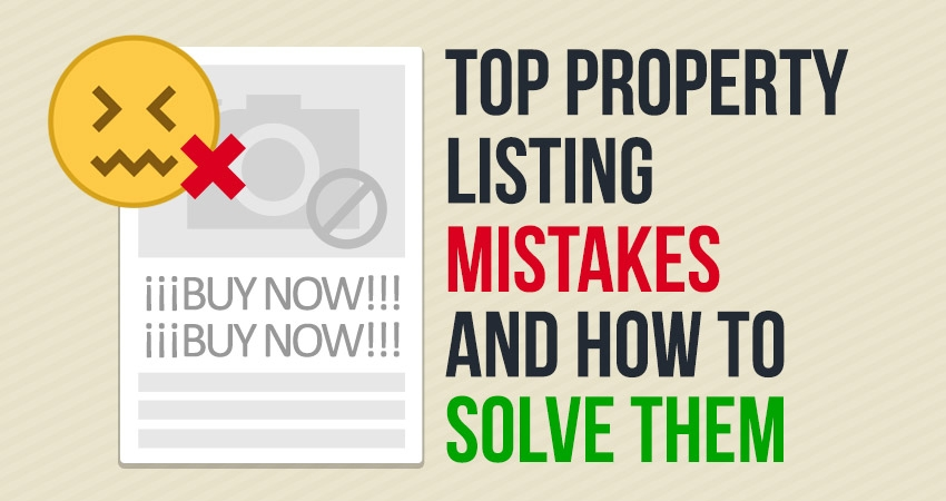 Top Property Listing Mistakes and How to Solve Them