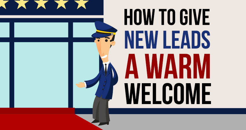Welcoming your leads