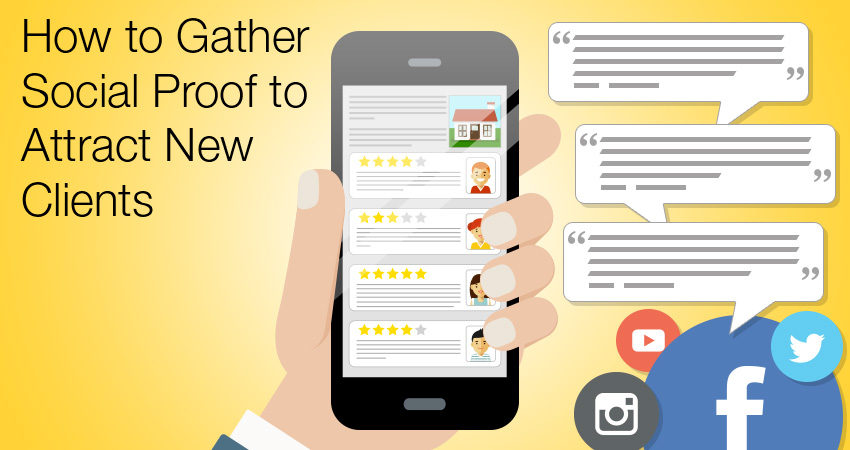 How to Gather Social Proof to Attract New Clients