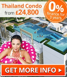 WATERPARK Condo Thailand from just 24,800 GBP