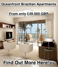 Oceanfront Brazilian Apartments from 49k GBP