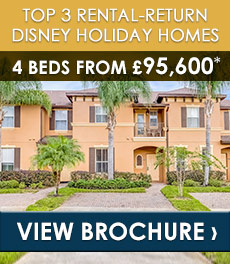 TOP 3 RENTAL-RETURN DISNEY HOLIDAY HOMES!