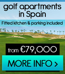 FRONTLINE GOLF APARTMENTS IN MURCIA
