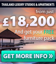 9% assured rental return Bang Saray luxury fitted spacious studios and apartments
