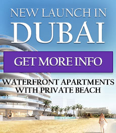 DUBAI PREMIERE WATERFRONT APARTMENTS WITH PRIVATE BEACH