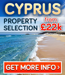 Cyprus property selection from 22k GBP