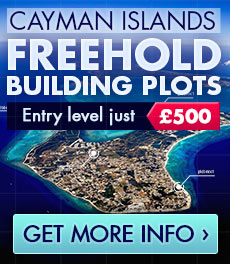 TAX FREE - FREEHOLD BUILDING PLOTS  IN THE CAYMAN ISLANDS
