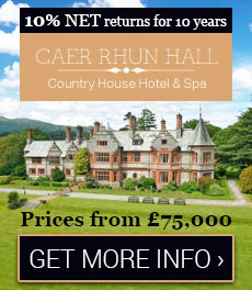 10% NET returns for 10 years -  A unique UK boutique country house hotel & spa