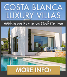 Costa Blanca 3 bedroom contemporary villas