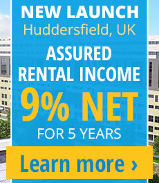 9% NET rental assurance for FIVE years