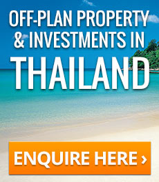 Off-plan property and investment opportunities in Thailand