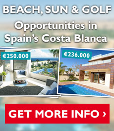 Key ready Villas and Apartments on the Costa Blanca