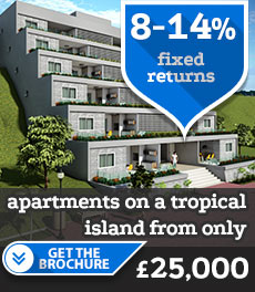 2 bed luxury apartments with excellent rental yields.