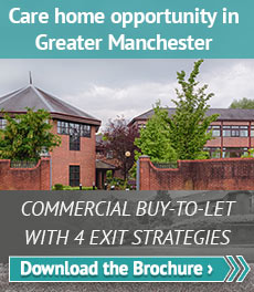 Care home opportunity in Greater Manchester for your buy-to-let portfolio