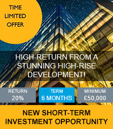 20% return over 6 months! New UK based time limited opportunity