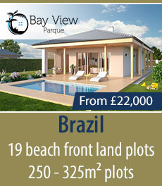 Brazil - 19 beach front land plots - 250 - 325m² plots